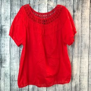 {3/$25} Lane Bryant 18/20 short sleeve top